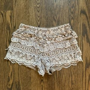 Lacey brown shorts